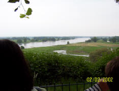 Ausblick auf die Elbe