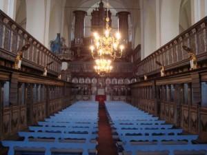 Blick ins Kloster