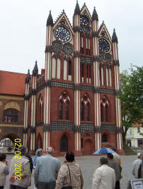 das Rathaus von Tangemünde